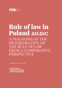 Rule of Law in Poland 2020